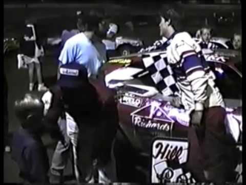 Hill Valley Speedway Mini Stock Feature 1989 Ellis Whitsel