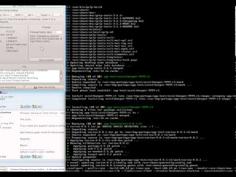 Gentoo in Review - Luakit install and discussion