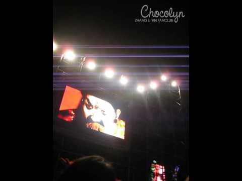 2009.02.07 SMTOWN Bangkok - Zhang Li Yin - Intro Fancam [Chocolyn]