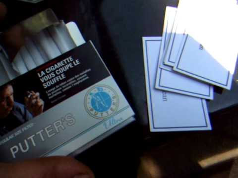 Putter's Brand Cigarettes From Canada And A Proper Shoutout