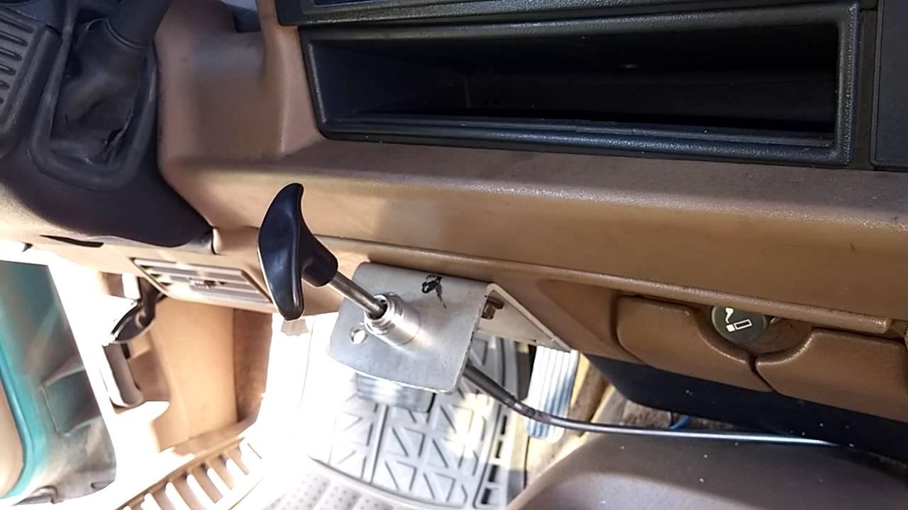 convert 4x4 to manual control blazer jimmy s10 sonoma [ 1280 x 720 Pixel ]