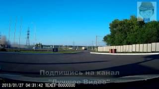 Жесткий таран   ДТП в Белгородской области car crash лучшее видео(, 2016-04-16T14:00:01.000Z)
