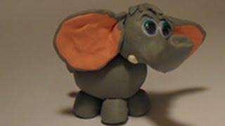 Уроки лепки для детей.Урок 13. Слон