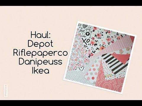 Filofaxing Haul Danipeuss Depot IKEA Rifflepaperco Amazon | deutsch | filolove_