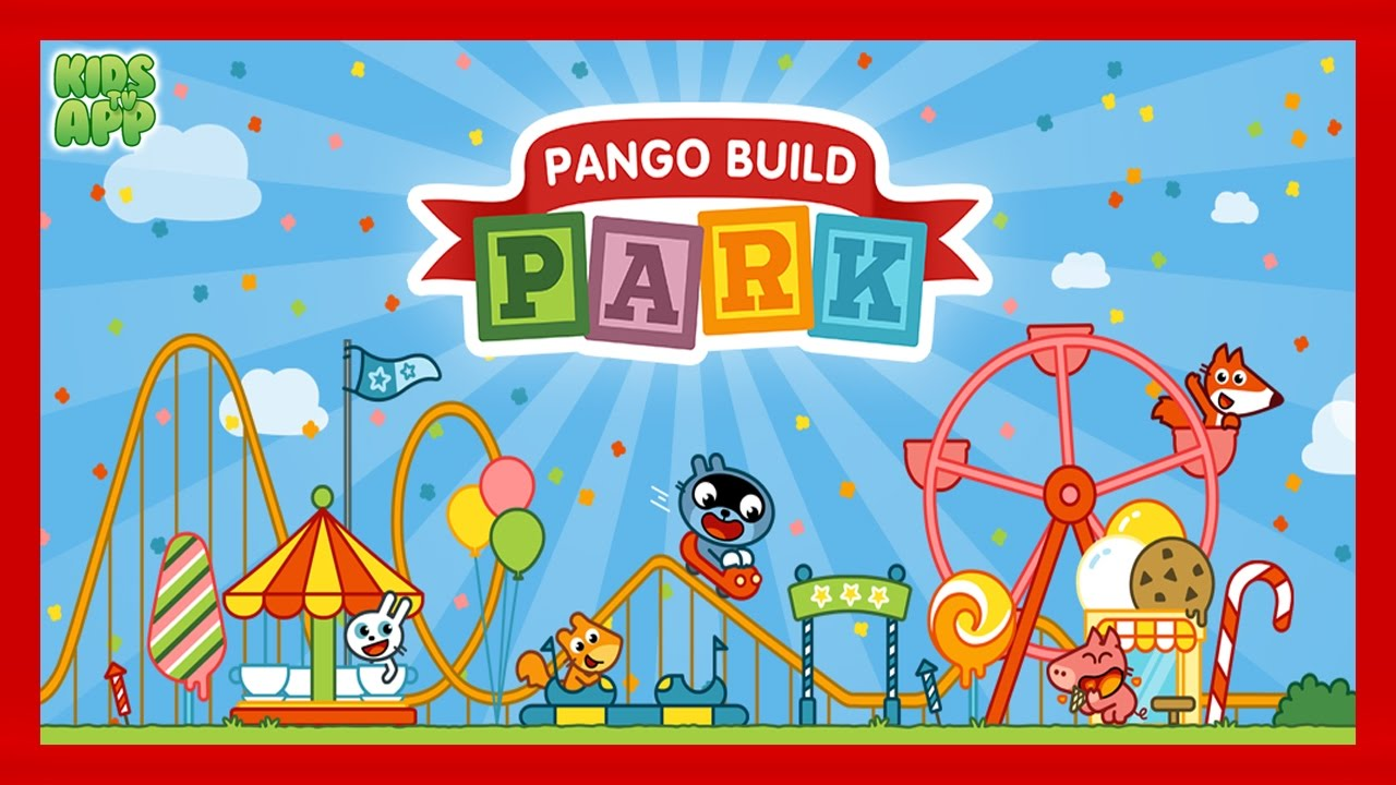Pango Build Park Studio Pango Best App For Kids Youtube