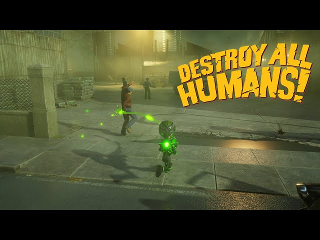 Destroy All Humans! - Crypto presents: The Anal Probe