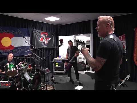 Metallica: Tuning Room (Copenhagen, Denmark - 2017)