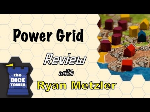 Power Grid Review - with Ryan Metzler