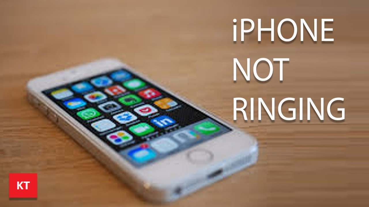 iphone 5 no ring sound on incoming calls