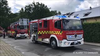 17.06.2019 - Ild i rækkehus Ålsgårde