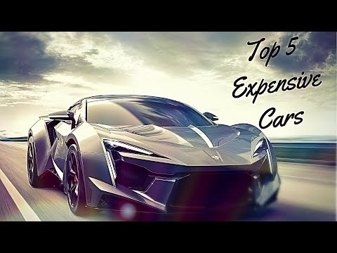 TOP 5 MOST EXPENSIVE CARS - 2017