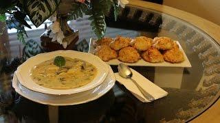 Итальянский суп ньокки  gnocchi soup