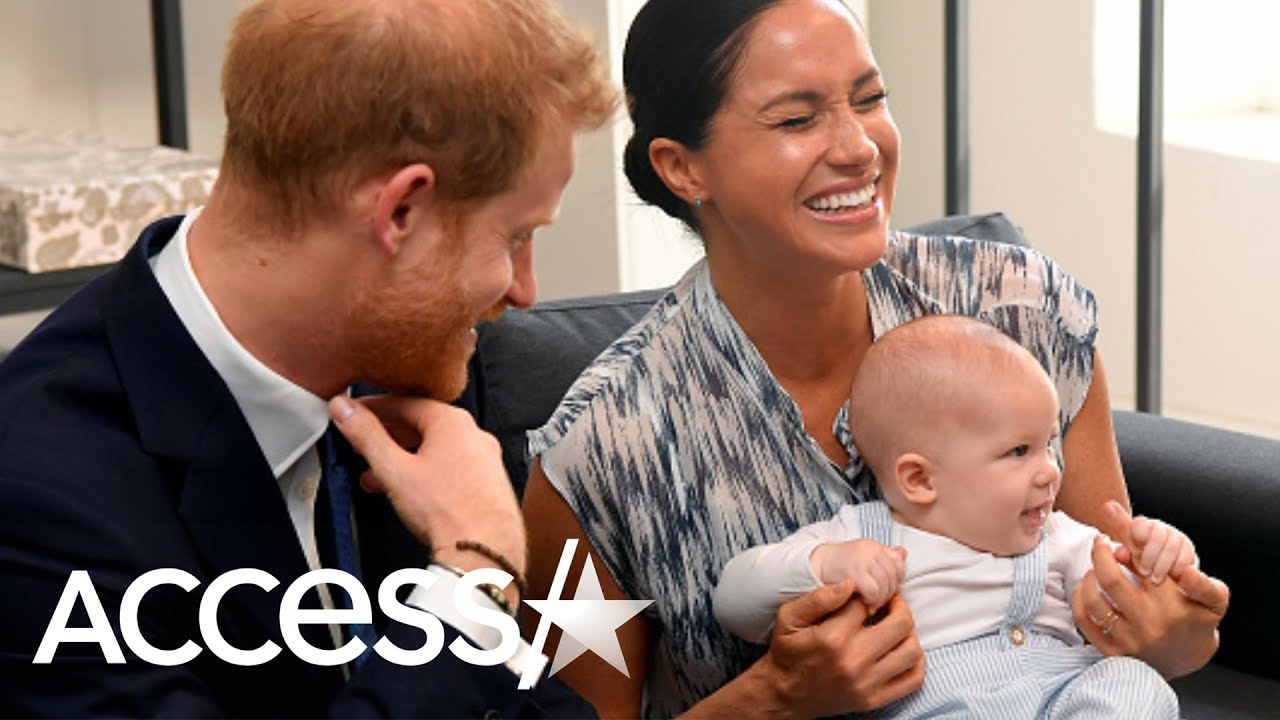 Prince Harry Takes Baby Archie To Playgroup For The First Time Youtube