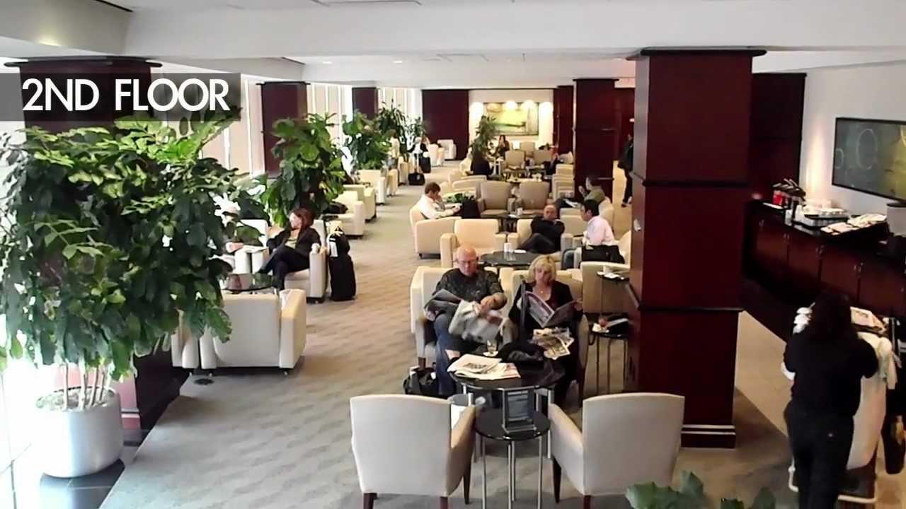 United Club Houston Iah United Airlines Lounge Youtube