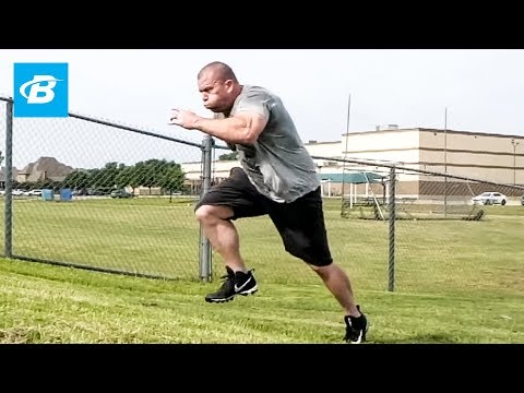 Hill Sprints for Speed & Strength | Josh Bryant