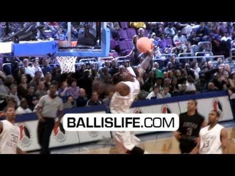 Michael Jordans Son Marcus Jordan Sick Dunks Brand Classic