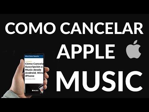 Cómo Cancelar Suscripción a Apple Music desde Android, Windows o iPhone