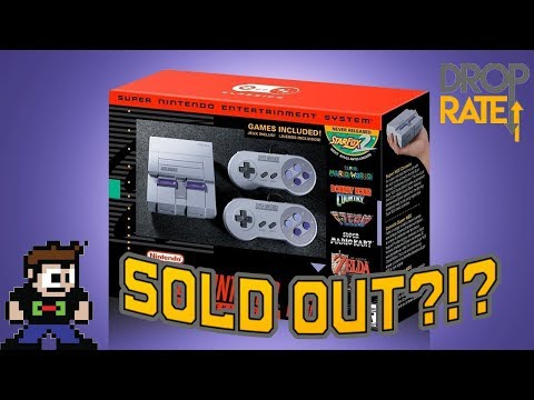 Repeat SNES Classic Sold Out in Minutes?!? Worst Preorder System