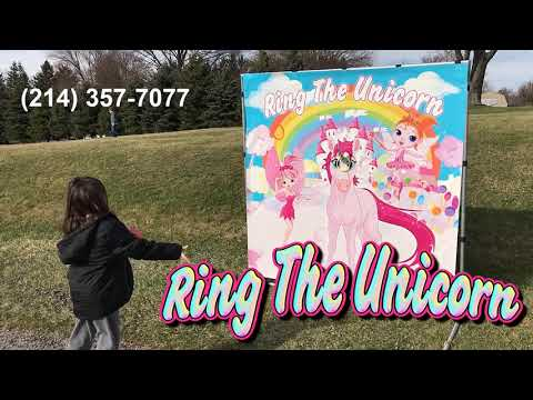 Ring the Unicorn - Carnival Game Rental - (214) 357-7077