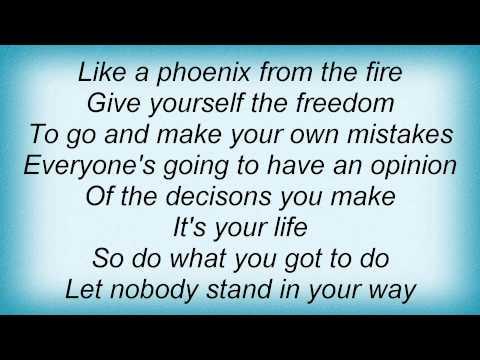 Beverley Craven - Phoenix From The Fire Lyrics_1