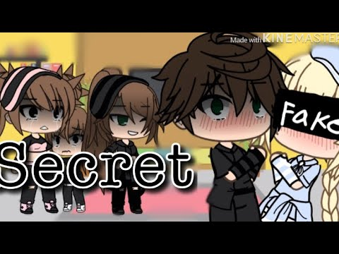 Secret || gacha life music video ||