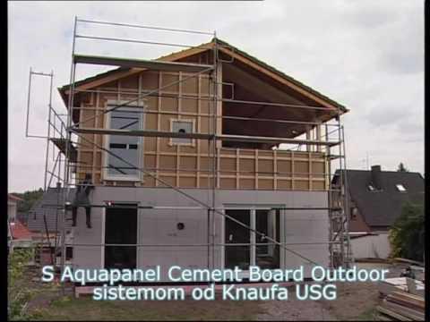 Knauf Aquapanel Cement Board Outdoor