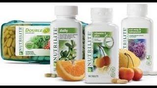Presentación de Nutrilite traído por Lucy