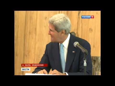 Джон Керри растерялся когда спросили про Иран
