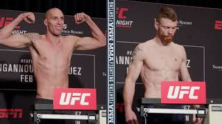 UFC Phoenix Weigh-Ins: James Vick, Paul Felder Make Weight - MMA Fighting