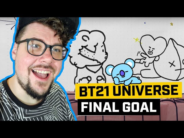 Mikey Reacts to BT21 UNIVERSE EP.04 - FINAL GOAL