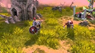 Majesty 2 Battles of Ardania | trailer (2010)
