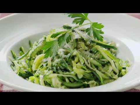 How to Make Zucchini Noodles |Vegetarian Recipes | Allrecipes.com