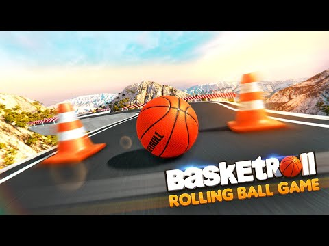 BasketRoll: Rolling Ball Game 1