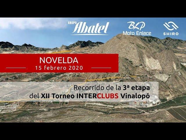 Novelda. Tercera etapa Interclubs Vinalopó 2020