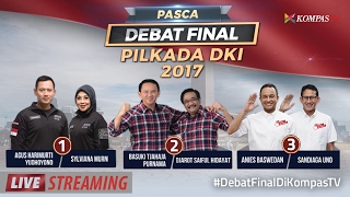 Video Pasca Debat Final Pilkada DKI Jakarta 2017 download MP3, 3GP, MP4, WEBM, AVI, FLV November 2017