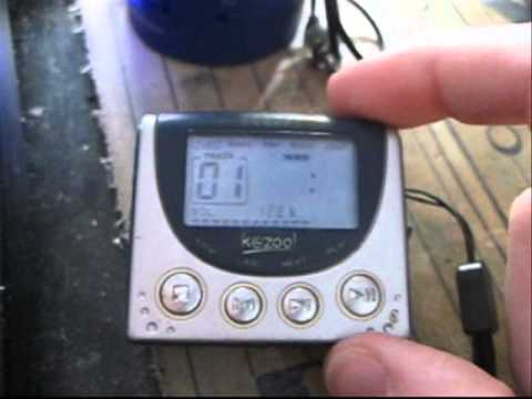 RCA Kazoo MP3 Player RD1000 From 2001