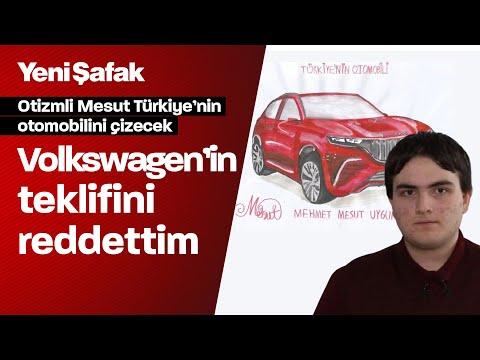 Türkiye'nin Otomobili'ni çizen Otizmli Mesut: Otomobil Tasarımcısı Olmak Istiyorum
