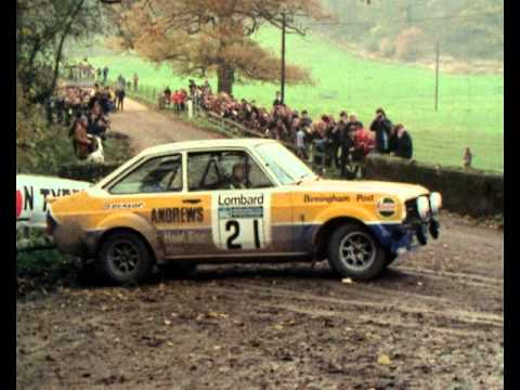 Great Retro Rally action from the 1970s!