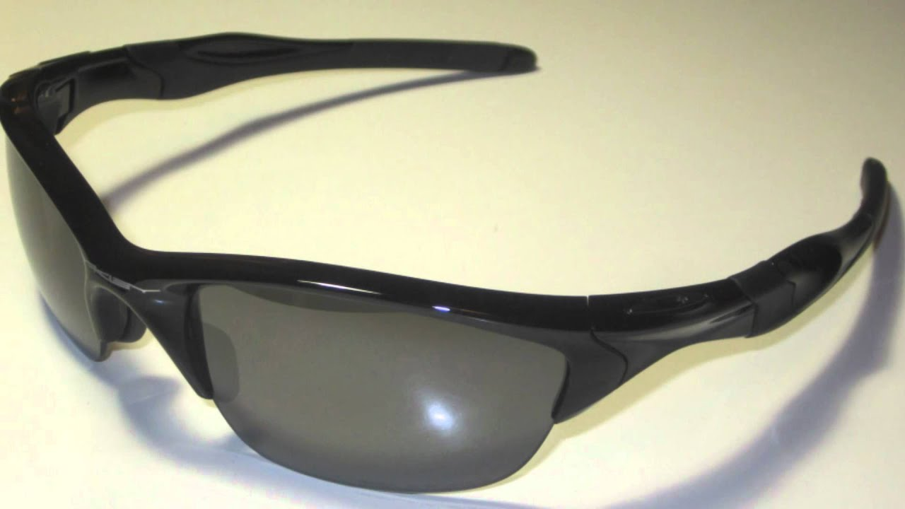 77592a7770 Oakley Half Jacket 2.0 POLARIZED w  Black Iridium Sunglasses - YouTube