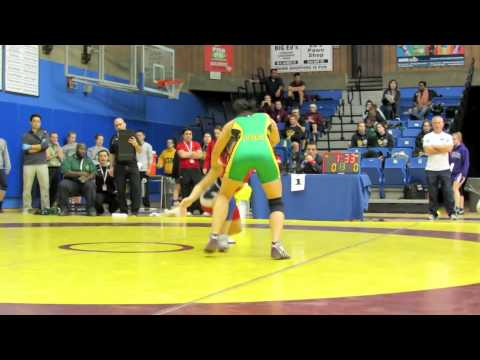 CIS Championships 2012: 51 kg Jasmine Mian vs. Natalie Brady