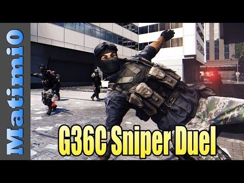 G36C Sniper Duel - Most Trade Kills Ever - Battlefield 4