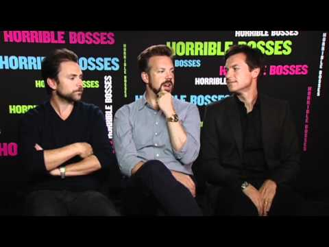 Horrible Bosses - Jason Bateman, Jason Sudeikis and Charlie Day on their R-Rated comedy