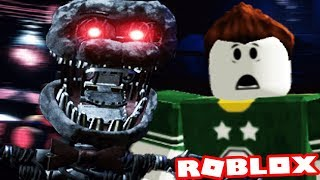 CHASED BY THE ANIMATRONIC CREATION! | Roblox The Joy of Creation (Five Nights at Freddys)