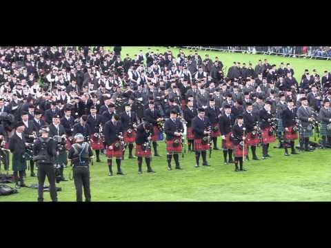 Field Marshal Montgomery Pipe Band: World Champions 2013