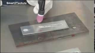 Сварка алюминия аргнонодуговым (TIG) способом для начинающих(Это видео продемонстрирует основы сварки алюминия для новичков с использованием AC/DC TIG процесса. Настройка:..., 2014-12-01T11:42:38.000Z)