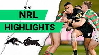 Panthers v Rabbitohs Match Highlights   Round 7 2020   Telstra Premiership   NRL