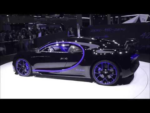color changing - bugatti chiron ''42 seconds'' 8.0 w16 1500 hp