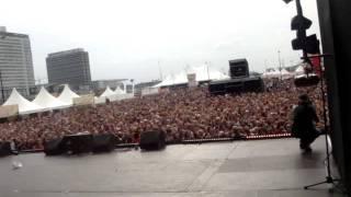 KEIZER, RODNEY ANTHONY ROOTS, GIO & DJ DARKSHOT LIVE AT TMF AWARDS 2011 MAINSTAGE 1