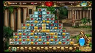 Jewel Master: Cradle of Rome Nintendo Wii Gameplay - Match Three