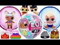 Let's go to the party with Little Roll! LOL Surprise Winter lils Unboxing! | PinkyPopToy